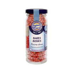 Baies roses poivre doux SAINTE LUCIE, 25g