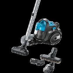 Aspirateur sans sac BOSCH GS05 Cleann'n BGS05X240 bleu 700w-