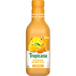 Jus de madarine mangue yuzu TROPICANA, 90cl
