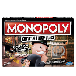 Monopoly tricheurs HASBRO, dès 8 ans