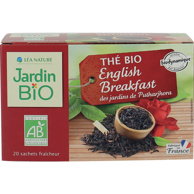 the noir english breakfast dynamie*  etui de 20 sachets 32g