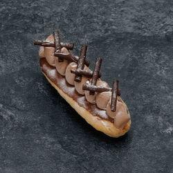 Eclair chocolat origine équateur, 1 pièce, 90g