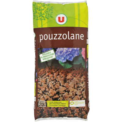 Pouzzolane U 7/15mm, 20 litres