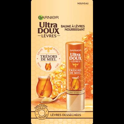 Stick pour les lèvres au miel ultra doux GARNIER, 4,7ml
