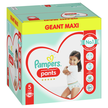 Pampers Couches Culottes Premium Protection Pants Pampers T5 X60