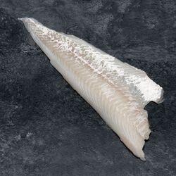 Dos d'eglefin, Melanogrammus aeglefinus, calibre 100g/+, pêché en Atlantique Nord Est
