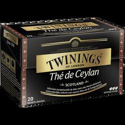 Thé de Ceylan Scotland TWININGS, 20 sachets, 40g