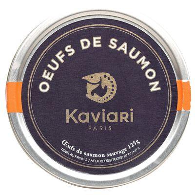 OEUFS DE SAUMON SAUVAGE 250G