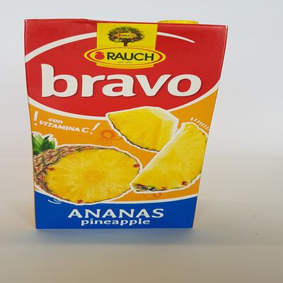 JUS DE FRUITS BRAVO ANANAS BRIK 2L
