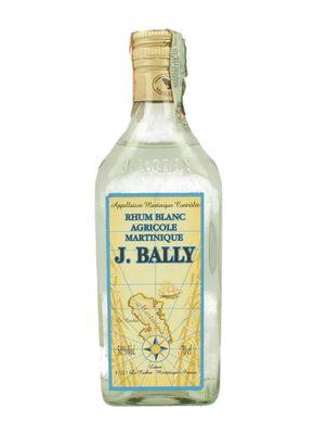 Rhum blanc agricole AOC, J.BALLY, 50°, bouteille de 70cl