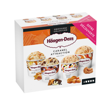 Häagen-Dazs Minicup Caramel Attraction Häagen Dazs, 321g