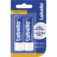 Stick pour les lèvres original sous blister LABELLO, 2x4,8g