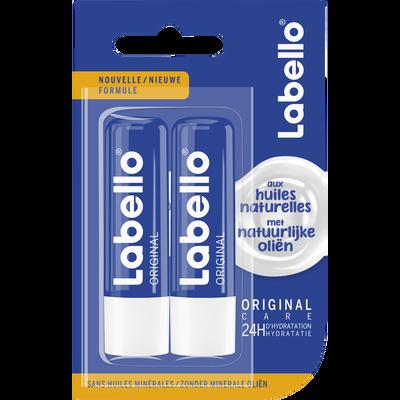 Stick pour les lèvres original sous blister LABELLO, 2x4, 8g