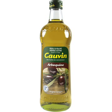Cauvin Huile D'olive Vierge Extra Arbequine Cauvin, 1l