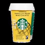 Starbucks Boisson Lacté Café Arabica Vanilla Macchiato Starbucks, Cup De 220ml