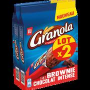LU Brownie Chocolat Intense Sachet Individuel Granola Lu X2 360g