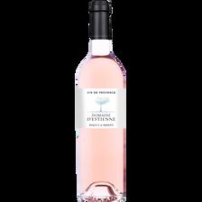 Vin rosé Côteaux Varois Provence AOP domaine d'Estienne MRP, bouteillede 75cl