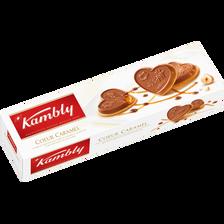Coeur caramel KAMBLY, paquet de 100g