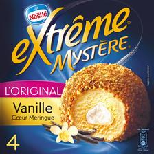 Nestlé Mystères Vanille Coeur Meringue Extreme, 4 Unités, 308g