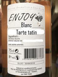 ENJOY BLANC TARTE TATIN 8° BOI