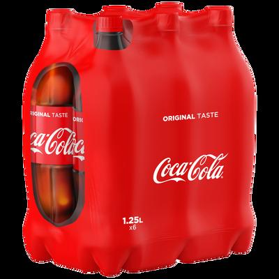 COCA COLA, 6 bouteilles de 1,25l