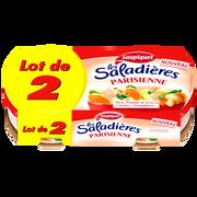 Saupiquet Saladières Snacking Parisienne Saupiquet, 2x220g Soit 440g