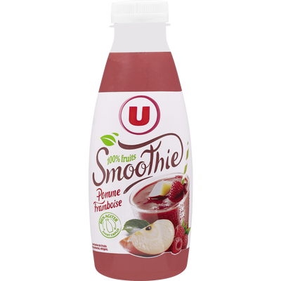 Smoothie pomme framboise U, 50cl