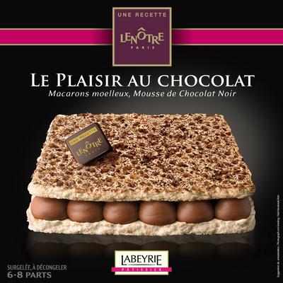 Plaisir au chocolat recette LENÔTRE, 405g