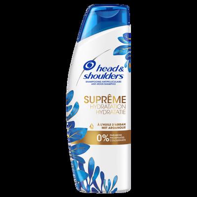 Shampooing suprême hydratation 0% paraben, phosphates, colorant HEAD&SHOULDERS, 270ml