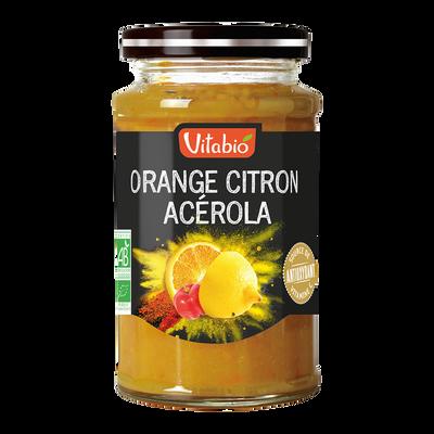 Délice de Orange citron acérola VITABIO, 290g