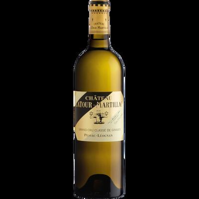 """Vin blanc AOC Pessac Léognan grand cru classé de graves """"Château LATOUR MARTILLAC"""", 75cl"""