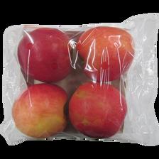 Pomme cripps pink, BIO, calibre 115/135, catégorie 2, Argentine, barquette 4 fruits