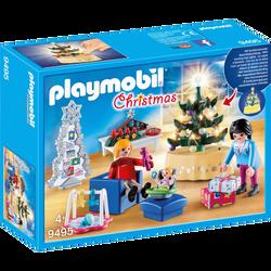Playmobil Christmas - Famille et salon de Noël - 9495 -  Dès 4 ans