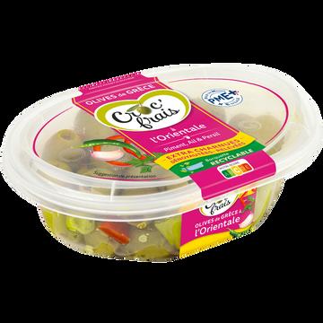 Colgate Olives Vertes Dénoyautées Au Piment, Persil Et Ail, Croc'frais, Sans Conservateur, Barquette 200g
