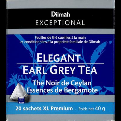 Thé noir de Ceylan essences de bergamote DILMAH, sachet 40g