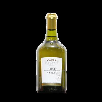 Arbois vin jaune LES CAVES DU VIEUX MONT, bouteille de 0.62l