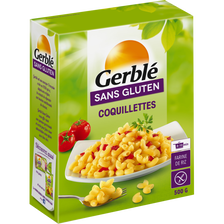 Coquillettes sans gluten GERBLE, 500g