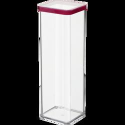 Boite hermétique carrée, loft, en styrolène acrylonitrile 2l