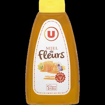 Miel de fleurs U, doseur de 500g