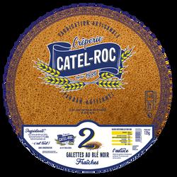 2 galettes au blé noir Fraiches, CATEL ROC, 125g