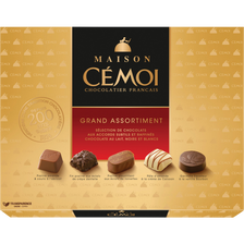 Cémoi Chocolat Grand Assortiment Maison , Boite De 400g