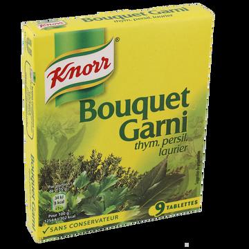 Knorr Cubes Bouquet Garni Knorr, 9 Tablettes, 99g