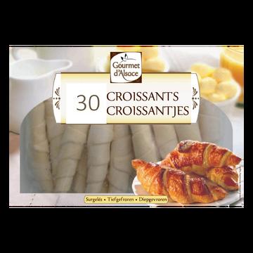Gourmet Croissants Gourmet D'alsace, 30 Unités, 1,5kg