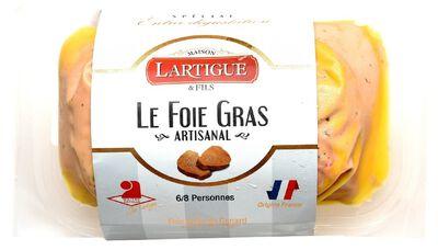Foie Gras de Canard au Sauterne 75G LARTIGUE & FILS