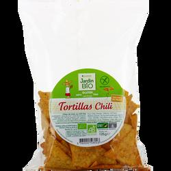 Tortillas maïs au chili sans gluten bio JARDIN BIO 125g