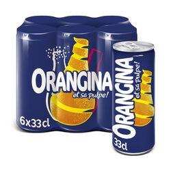 Soda à l'orange, ORANGINA, Slim boîte de 6x33cl