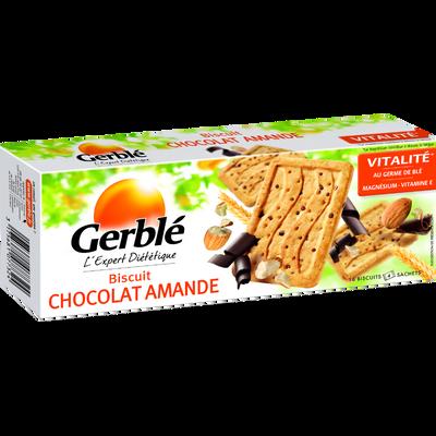 Biscuits chocolat amande GERBLE, 200g