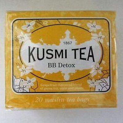 Thé BB Detox 20 sachets KUSMI TEA, 44g