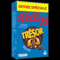 Céréales chocolat au lait Kellogg's TRESOR, 750g