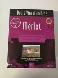Merlot 5L Dupré &fils